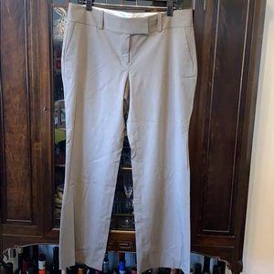 Ann Taylor 12P Frey Striped Dress Pants